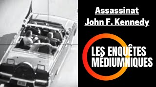 Voyance #02 | Affaire Assassinat JFK John Fitzgerald Kennedy ! | Bruno Médium USA CIA FBI Président
