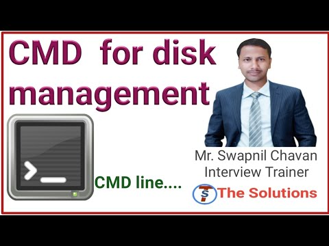 disk management command || disk management in operating system with cmd | how disk manage by cmd