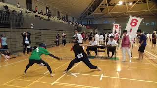 2017年 全日本学生大会 第8コート.
