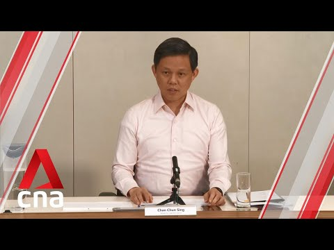 COVID-19: Chan Chun Sing outlines Singapore's plans to reopen economy after circuit-breaker exit