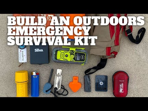 How To Make An Outdoors Emergency Survival Kit - HikingGuy.com