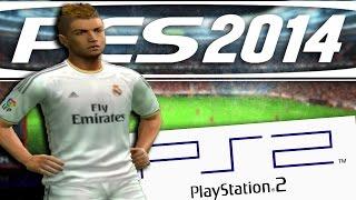 EL PES 2014 PARA PS2 ES MUY BUENO!!! ¿HABÉIS JUGADO? | PES 2014 Gameplay PS2