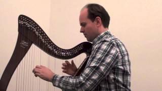 À dix heures dans ces verts prés (harpe)