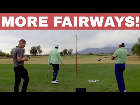 TOUR FADE LESSON Milo Lines, PGA Gives a teaches it to Drew Cooper | BE BETTER GOLF