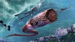 Красивый подводный мир инопланетных океанов