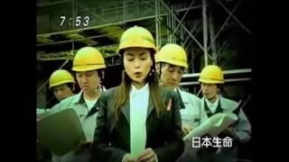 日本生命FrauのCM(長谷川京子) 花の命は結構長い~