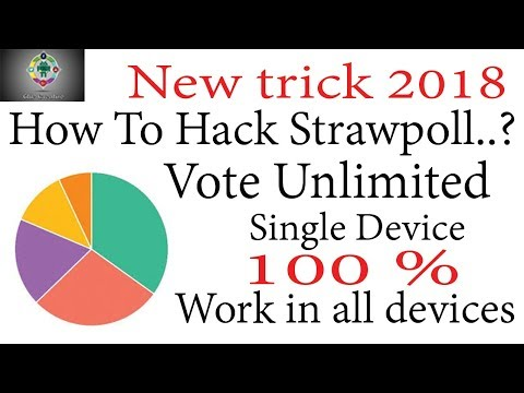 How To Hack Online Strawpoll Votes / Vote Unlimited In Strawpoll New Trick In Hindi
