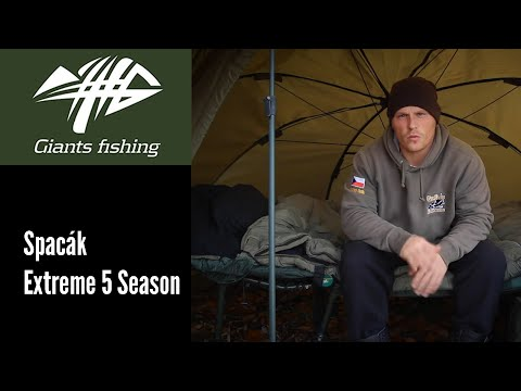Giants Fishing Spacák Extreme 5 Season