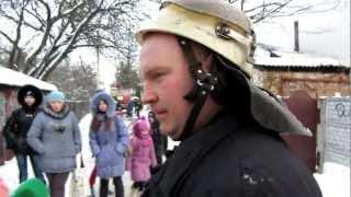 Пожар в Чернигове на Воровского часть2