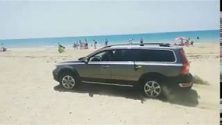 Volvo xc70 offroad off road бездорожье по песку на бугазской косе