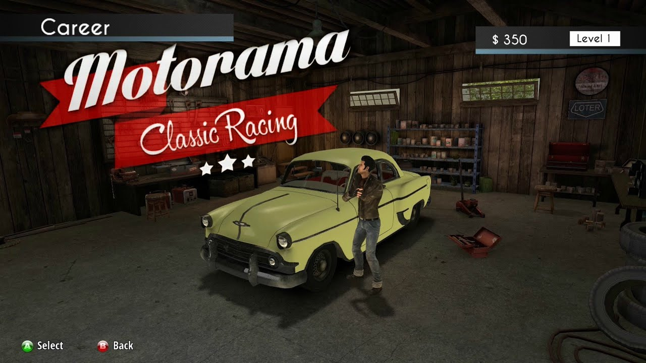 Motorama Classic Racing Free Download PC Games