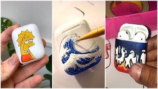 Best Painting Airpods Compilation On TikTok 2019 #4