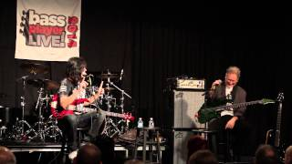 Bass Player LIVE! 2014 Clinics: Rudy Sarzo and Brian Bromberg