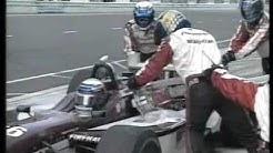 Alex Zanardi Horrorcrash ChampCar-WorldSeries - German500 Lausitzring Sept.2001 GERMAN-TV