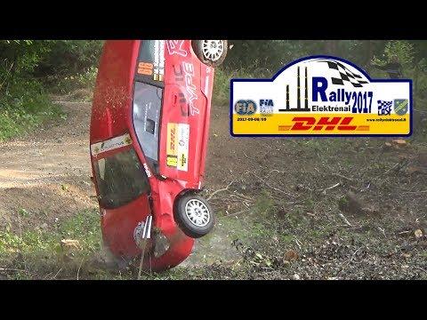 Rally Elektrenai 2017 (crashes & mistakes)