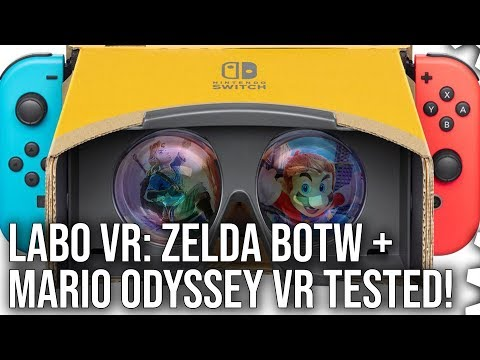 Labo VR: Zelda Breath of the Wild + Mario Odyssey VR modes tested!