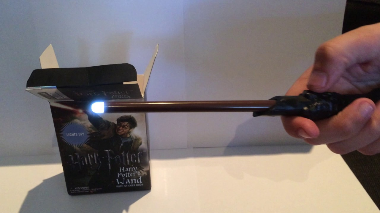Harry potter light up wand youtube for Light up wand