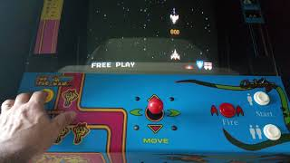 Namco 20 year reunion Arcade Cabinet Ms Pac-Man,Galaga and Pac-Man 1981