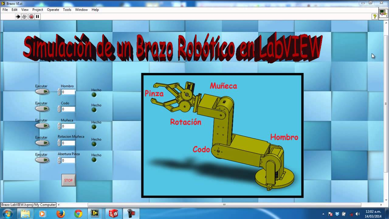 how to make labview workswith solidworks