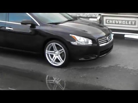 For Sale 2014 Nissan Maxima $20,975  20 Inch Rims Call us today 954-925-1995 48K by D & T Customs