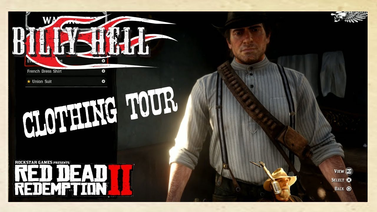 bc3731401f rdr2 Red Dead Redemption 2 Clothing Tour - YouTube