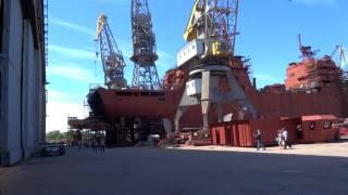 видео Прибалтийский судостроительный завод «Янтарь»