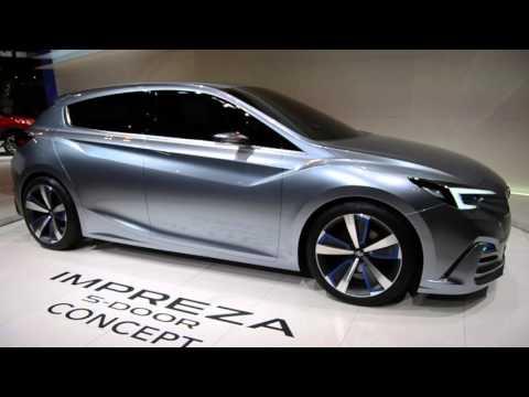 2017 Subaru Impreza Concept,  Chicago Auto Show at McCormick Place