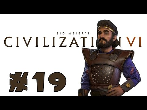 Let's Play: Civilization VI - Surprising Persia! - Deity - Part 19