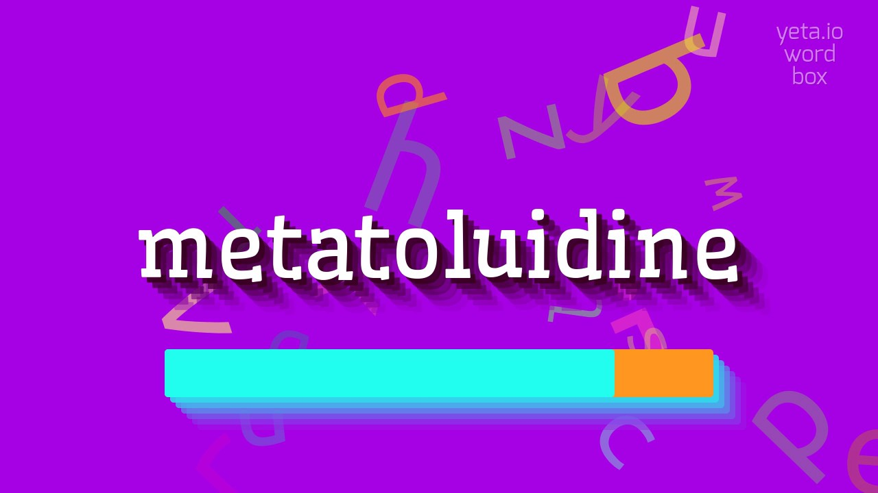 """Download How to say """"metatoluidine""""! (High Quality Voices)"""