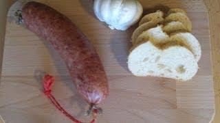 knoblauchwurst selber machen