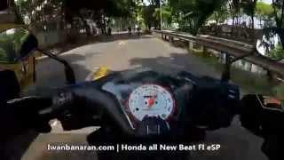 Top speed Honda Beat eSP (tembus 100 km/jam)