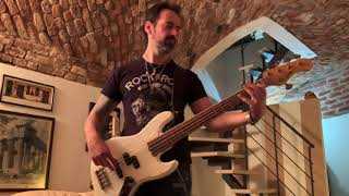 TOTO - In A Word (Roberto Galli Bass Cover)