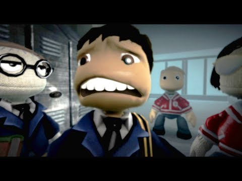 LittleBigPlanet 3  MR DARKSIDE III Horror Movie  LBP3 Halloween Animation
