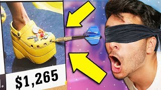 Throwing a Dart at a Map and BUYING Whatever it Lands on! (NOT CLICKBAIT)