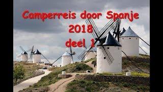 Camperreis Spanje deel 1