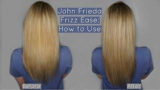 john frieda frizz ease blowout final