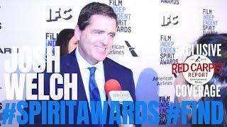 Josh Welch interviewed at 34th Film Independent #SpiritAwards Nominations Press Conference