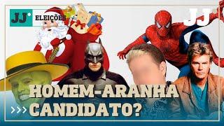 """Papai Noel, Batman e até """"Magaiver"""":veja os nomes inusitados de candidatos nas eleições"""