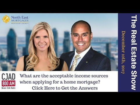 What are Acceptable Income Sources When Applying for a Home Mortgage in Canada - North East Mortgage