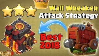 TH10 Wall Wrecker Attack | Wall Wrecker Strategy | Clash of clans India