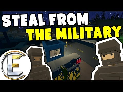 STEAL FROM THE MILITARY - Unturned Serious Roleplay (Stealth Mission To Steal Weapons) thumbnail
