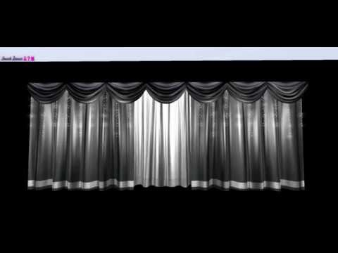 Spot On Layered Stage Curtains & Fairy Lights Demo