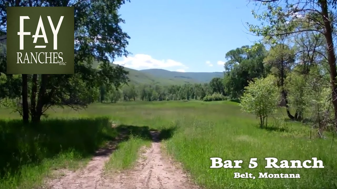 Belt Montana Ranch For Sale Bar 5 Ranch Youtube