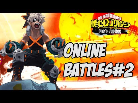 My Hero Academia One\'s Justice: Bakugou, Screaming Perfectionist Online Battles #2