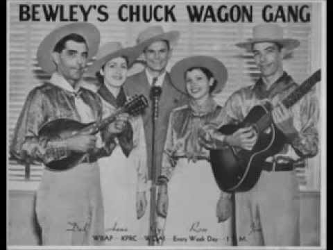 The Original Chuck Wagon Gang - I'll Be All Smiles Tonight (1936).