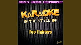 Monkey Wrench (Karaoke Version)