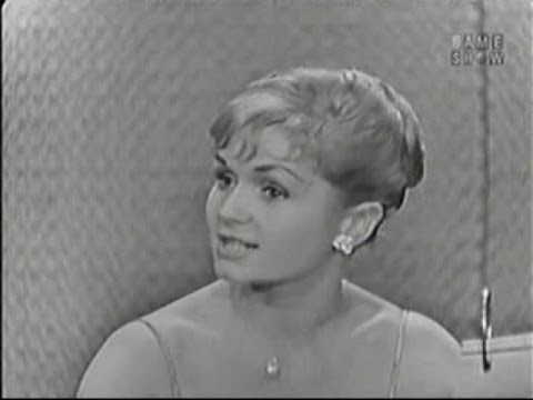 What's My Line? - Debbie Reynolds; Eamonn Andrews [panel] (May 24, 1959)