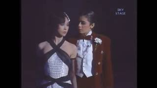 Japan's Takarazuka Revue ,the famous all-female acting troupe.日本宝塚Top Stars:大地真央 Mao Daichi & 黑木瞳 Hitomi Kuroki 85年月組 ヒート・ウェーブ Heat ...