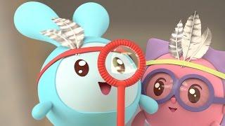 Малышарики - Пузыри (63 серия) Развивающие мультики для малышей от 1 года