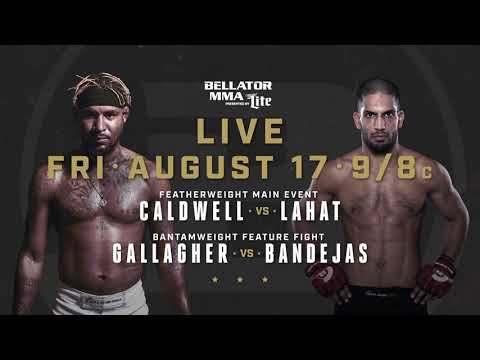 Bellator 204: Darrion Caldwell vs. Noad Lahat - FRIDAY, August 17th on Paramount Network!